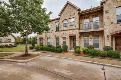 Mckinney Townhouse For Sale: 8605 Trolley Trail