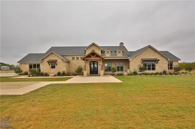 Abilene Single Family Home For Sale: 317 Miller Lane