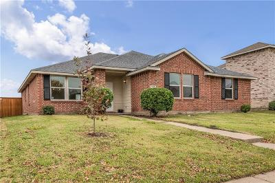 Wylie Single Family Home Active Option Contract: 2811 Lake Terrace Drive