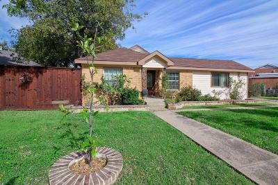 Grand Prairie Single Family Home Active Option Contract: 324 12th Street