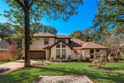 Grapevine Single Family Home For Sale: 1025 Woodbriar Drive