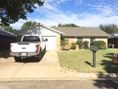 Fort Worth Single Family Home For Sale: 2608 Highlawn Terrace