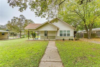 Cleburne Single Family Home For Sale: 1202 Stanwood Avenue