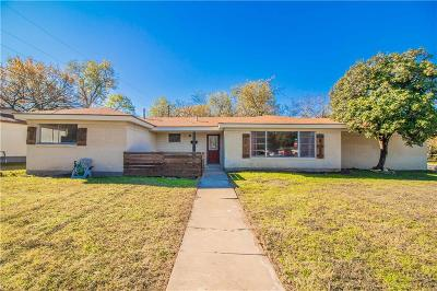 North Richland Hills Single Family Home For Sale: 3637 Reeves Street