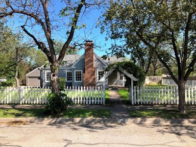 Brownwood TX Single Family Home For Sale: $127,000