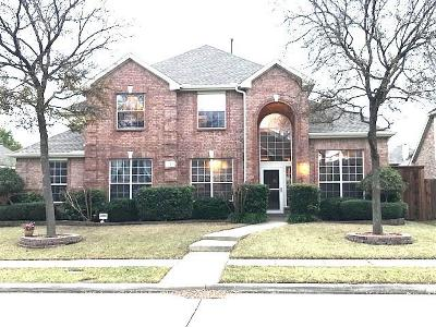 Allen Single Family Home For Sale: 1720 Clarke Springs Drive