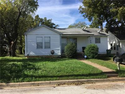 Arlington Single Family Home For Sale: 510 Echols Street