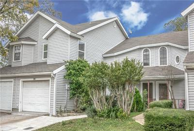 Lewisville Townhouse For Sale: 625 Manco Road #110