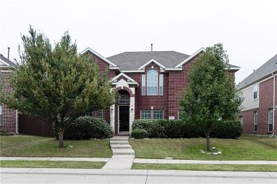 Allen Single Family Home For Sale: 1625 Humbolt Drive