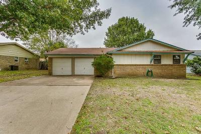 Crowley Single Family Home Active Option Contract: 417 Harris Drive