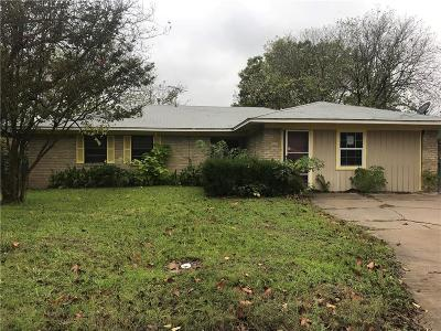 Waxahachie Single Family Home For Sale: 209 Anderson Street