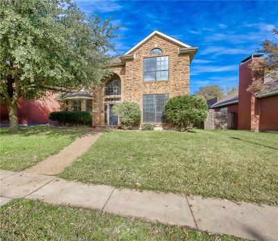 Rowlett Single Family Home Active Option Contract: 8817 Clearlake Drive