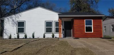 Dallas Single Family Home For Sale: 2343 Wolcott Drive