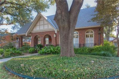 Fort Worth TX Single Family Home For Sale: $549,000
