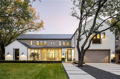 Dallas Single Family Home Active Option Contract: 6322 Prestonshire Lane