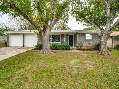 Lake Worth Single Family Home Active Option Contract: 3912 Shawnee Trail