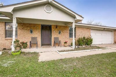Terrell Single Family Home Active Option Contract: 890 Betty Drive