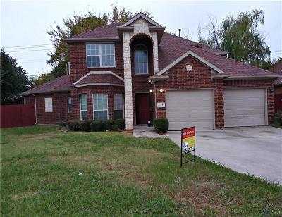 Irving Single Family Home For Sale: 3609 Sadge Lane