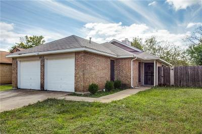 Fort Worth Single Family Home For Sale: 2513 Butterfield Drive