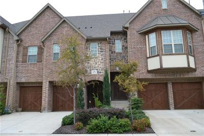 Lewisville Townhouse For Sale: 2672 Nottingham Drive