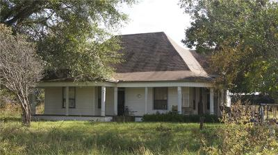Terrell Single Family Home Active Option Contract: 14494 Duck Creek Road
