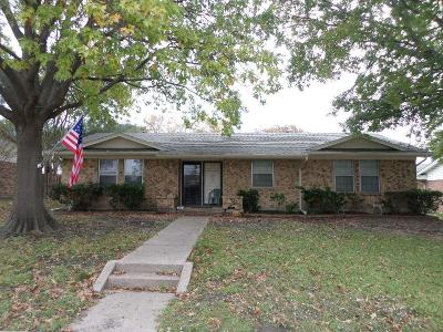 Mesquite Single Family Home Active Option Contract: 3017 Yorktown Road