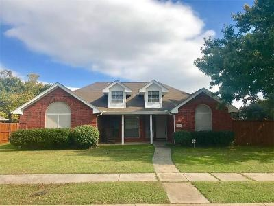 Frisco Single Family Home Active Option Contract: 9900 Dixon Court