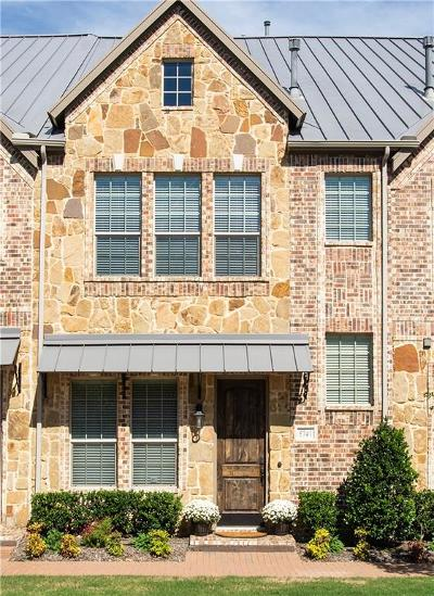 Plano Townhouse For Sale: 5741 Headquarters Drive