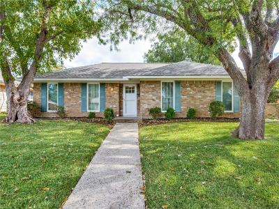 Plano Single Family Home Active Contingent: 2300 Brighton Lane