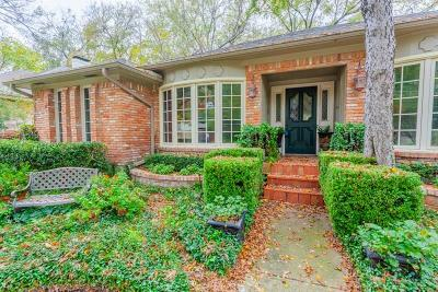 Dallas Single Family Home For Sale: 8917 Arborside Drive