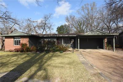 Dallas Single Family Home For Sale: 8551 Eustis Avenue