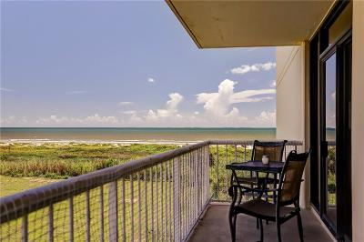 Galveston County, Harris County Condo For Sale: 1401 E Beach Drive #100