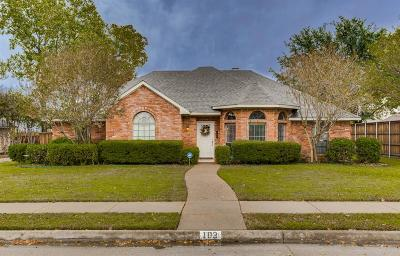 Single Family Home For Sale: 103 Shannon Drive