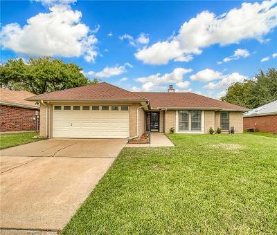 Grand Prairie Single Family Home Active Option Contract: 2514 McKensie Lane