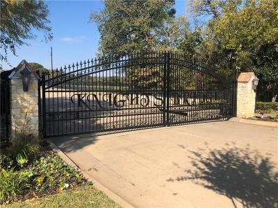 Mansfield Residential Lots & Land For Sale: 1601 Piccadilly Court