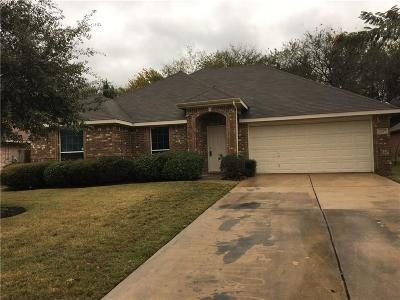 Terrell Single Family Home For Sale: 1607 Westgate Drive
