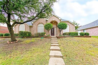Sachse Single Family Home Active Option Contract: 2511 Ridgeview Drive