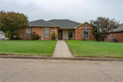 Cleburne Single Family Home Active Option Contract: 322 Odell Street
