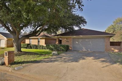 Abilene Single Family Home For Sale: 3250 Falcon Drive