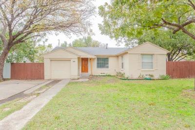 Single Family Home For Sale: 3819 Eaton Drive