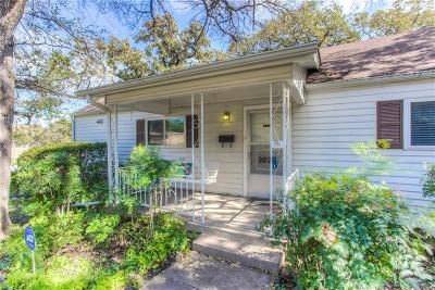 Fort Worth Single Family Home For Sale: 2020 Balsam Street