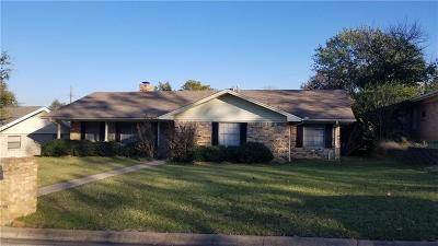 Sherman Single Family Home For Sale: 313 Chisholm Trail
