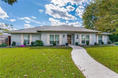 Dallas, Addison Single Family Home For Sale: 7816 Scotia Drive