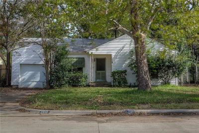 Single Family Home Active Option Contract: 2810 Minoco Drive