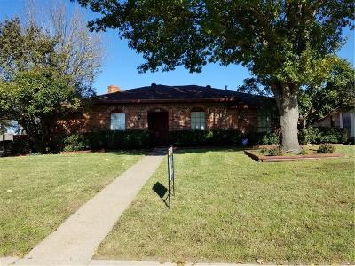 Garland Single Family Home For Sale: 4602 Duck Creek Drive