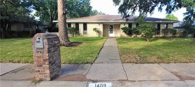 Lewisville Single Family Home For Sale: 1409 College Parkway