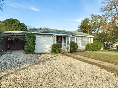 Fort Worth Single Family Home For Sale: 7300 Willis Avenue