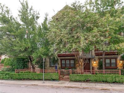 Dallas Townhouse For Sale: 6406 Oriole Drive