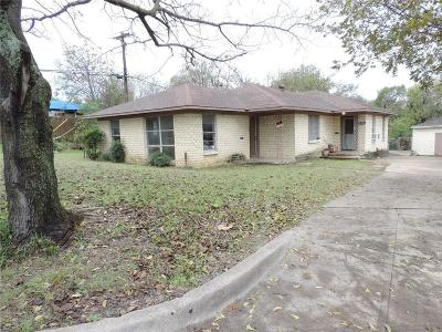 Single Family Home For Sale: 4415 Hilltop Street
