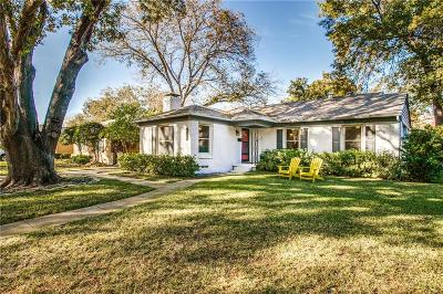 Dallas Single Family Home For Sale: 3767 Park Lane